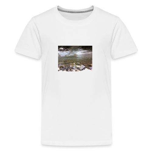 Bergbach2 - Teenager Premium T-Shirt