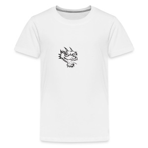 dragon head - Teenage Premium T-Shirt