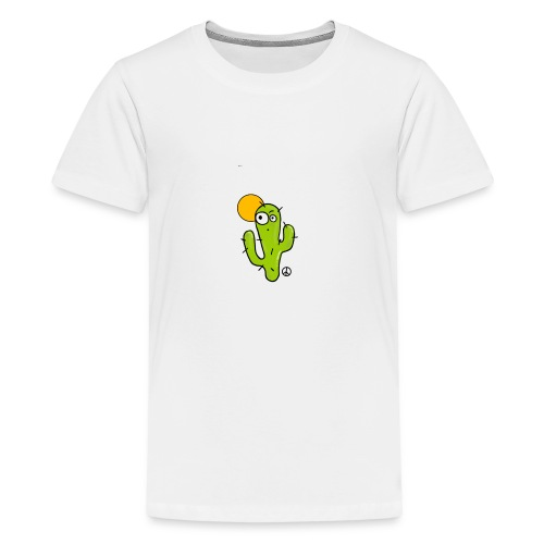 Cactus Cartoon - T-shirt Premium Ado