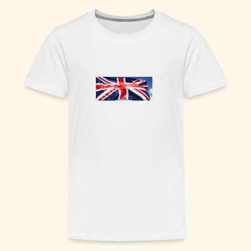 UK flag - Teenage Premium T-Shirt