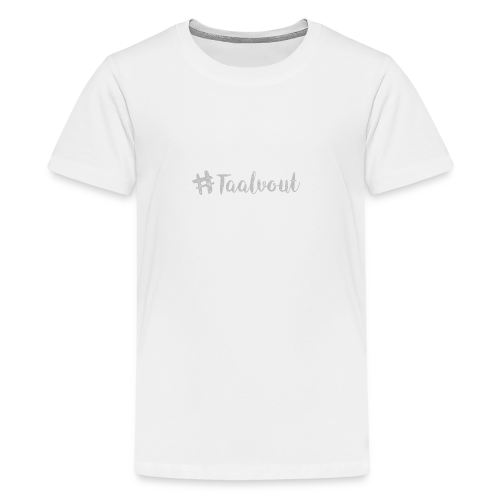 Taalvout - Teenager Premium T-shirt