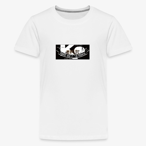 logo karlito black n gold - T-shirt Premium Ado