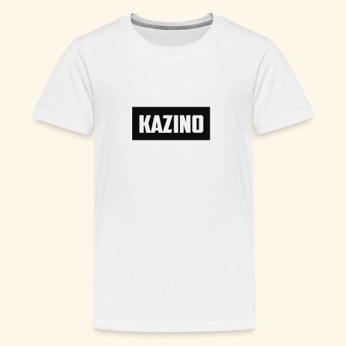 Kazino - Teenage Premium T-Shirt