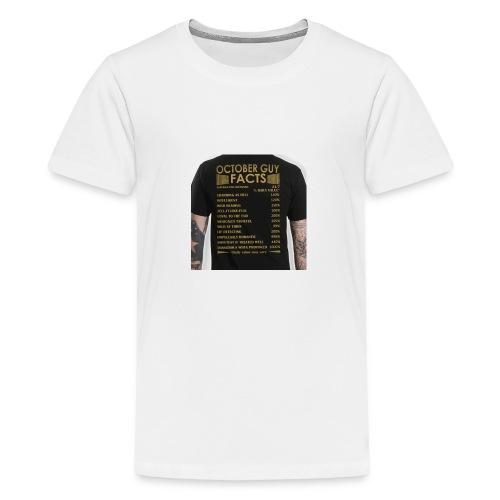 october gyu facts - Teenage Premium T-Shirt