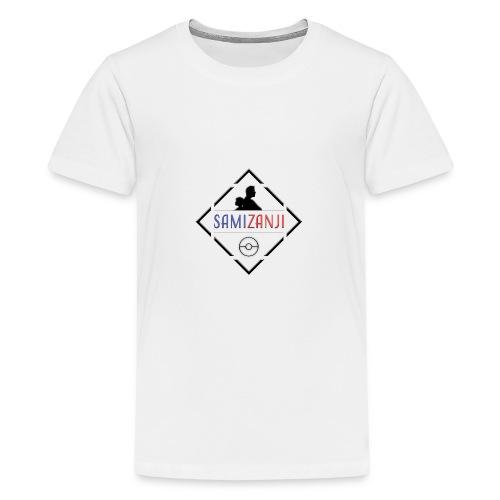 SamiZanji svart logga - Premium-T-shirt tonåring