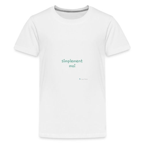 Simplement moi bio - T-shirt Premium Ado