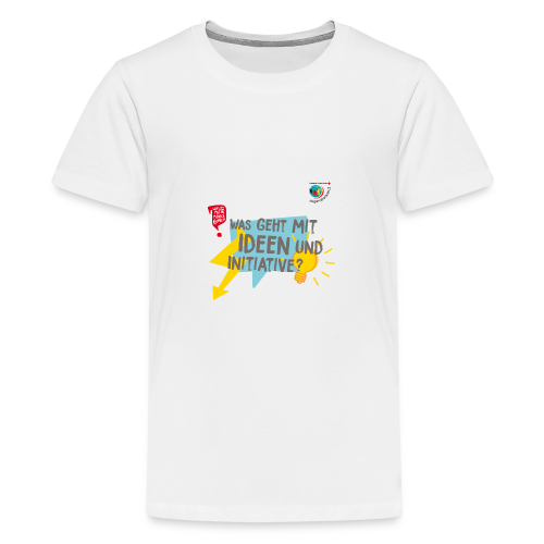 IDEEN & INITIATIVE - Teenager Premium T-Shirt