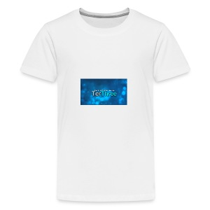 Ter Three Officail Banner - Teenage Premium T-Shirt