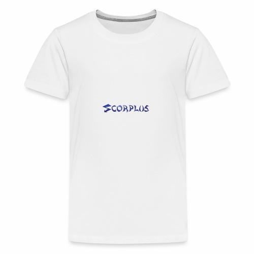 Banniere Team BLUE - T-shirt Premium Ado