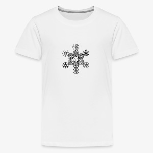 Geostar Flake - Teenage Premium T-Shirt