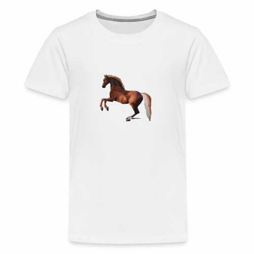 Pferd gemalt - Teenager Premium T-Shirt