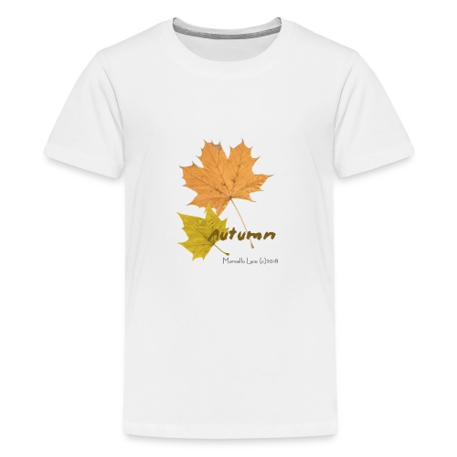 Streetworker art by Marcello Luce - autumn 2018 - Teenager Premium T-Shirt