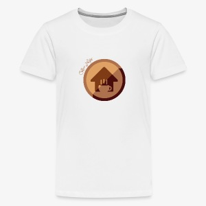 Coffee - Camiseta premium adolescente