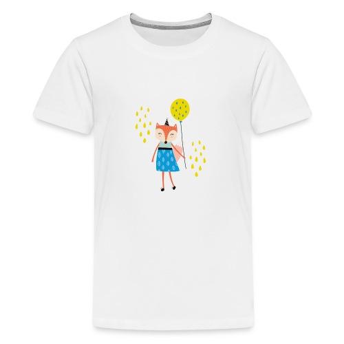 Fuchs - Ballon - Teenager Premium T-Shirt