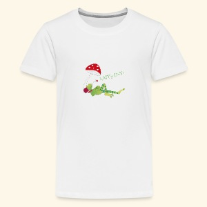 Glücksfrosch - Happy Day! - Teenager Premium T-Shirt