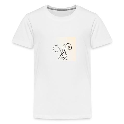 Vialenci symbol Design by Nadine vial - Teenager Premium T-Shirt