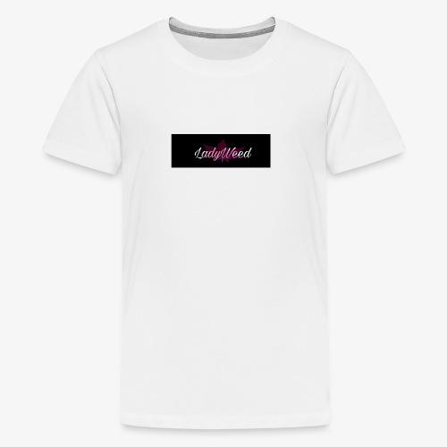 LadyWeed - Teenager Premium T-Shirt