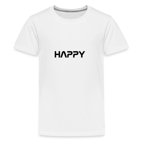 Happy - Teenager Premium T-Shirt
