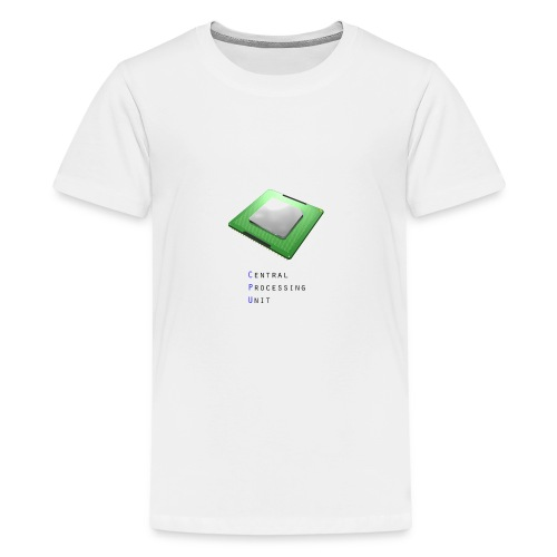 CPU - Central Processing Unit - Teenager Premium T-Shirt