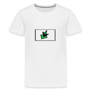 Grønn Terro - Premium T-skjorte for tenåringer