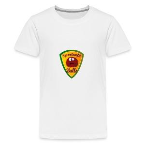 Logo Sportcafé Balls - Teenager Premium T-shirt