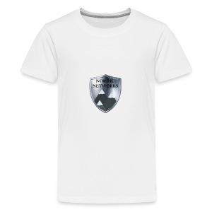 Nordic Networks Logo - Premium T-skjorte for tenåringer