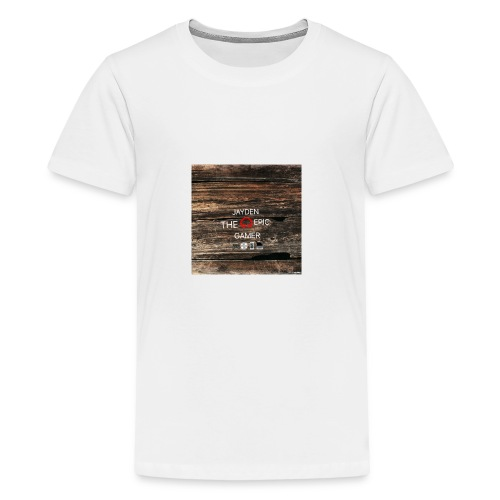 Jays cap - Teenage Premium T-Shirt