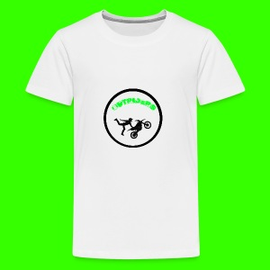 Outriders Logo - Teenager Premium T-Shirt