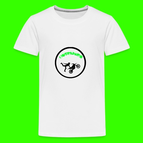 OUTRIDERS LOGO SIMPLE - Teenager Premium T-Shirt