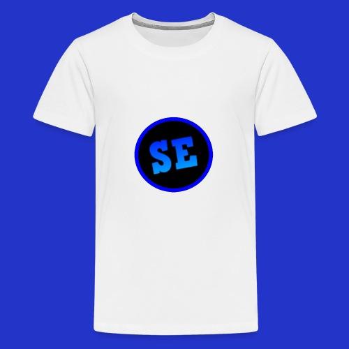 savage emacs merch final design 1 - Teenage Premium T-Shirt