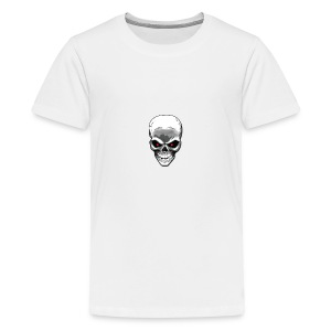 Skull logo - Teenage Premium T-Shirt