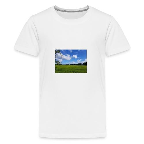 Feld in Schleswig Holstein - Teenager Premium T-Shirt