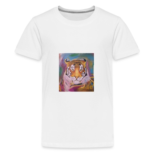 The Tiger Of Diffrent Shades - Premium-T-shirt tonåring