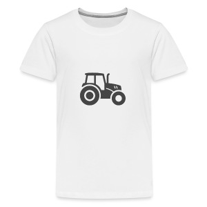 Traktor T-shirt - Teenager Premium T-Shirt