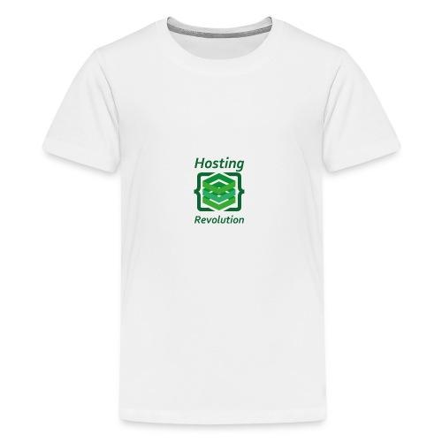 Hosting Revolution - Maglietta Premium per ragazzi