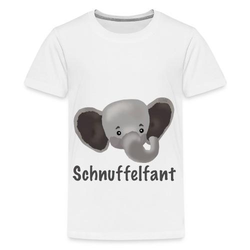 Motiv Schnuffelfant - Teenager Premium T-Shirt