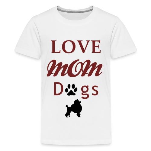 Mama Liebe Hunde Chiwawa transparent modi - Teenager Premium T-Shirt