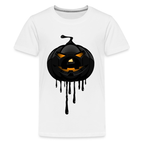 Black Pumpkin - Teenage Premium T-Shirt