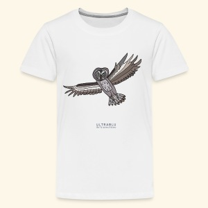 The Lapland owl - Teenage Premium T-Shirt