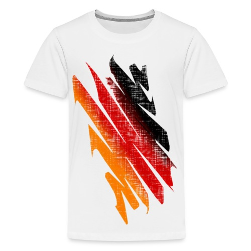 Deutsche Welle! - Teenager Premium T-Shirt
