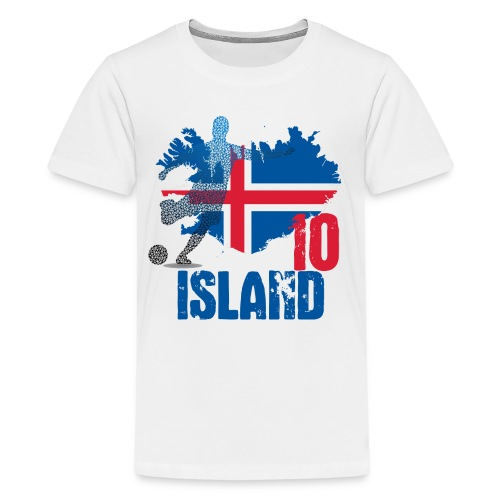 Island Tee 10 - Teenager Premium T-Shirt