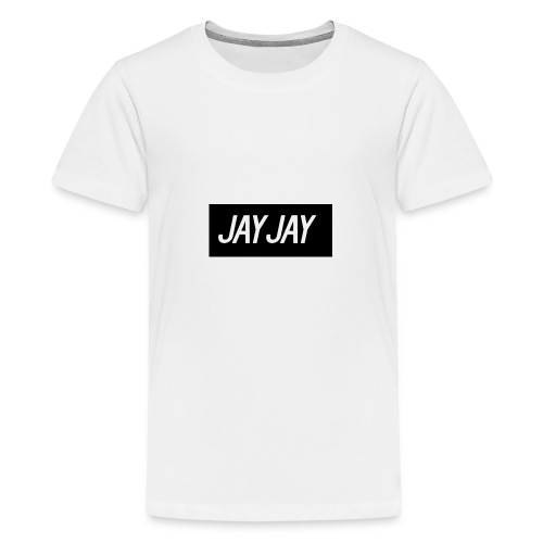 Plain JayJay Logo - Teenage Premium T-Shirt