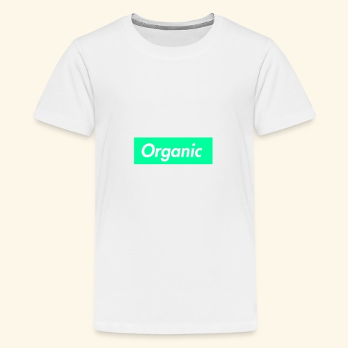 ORGANIC OFFICIAL MERCHANDISE - Teenage Premium T-Shirt