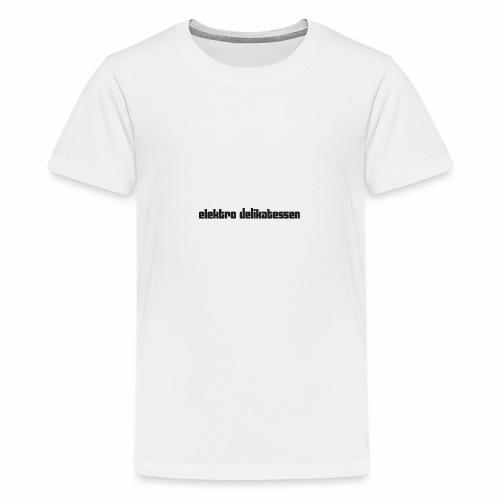 edlogoheadweb - Teenager Premium T-Shirt