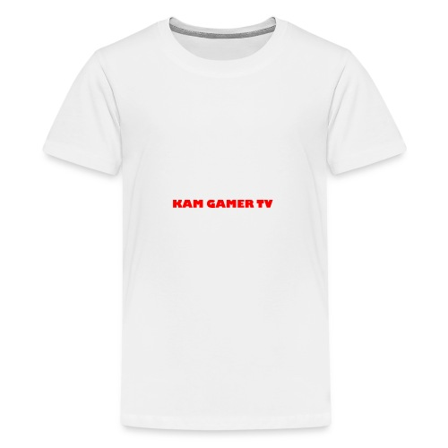 Kam Gamer Tv 9MN95B1X Range - Teenage Premium T-Shirt