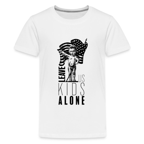 Leave us kids alone - T-shirt Premium Ado