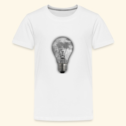 moon bulb - Camiseta premium adolescente