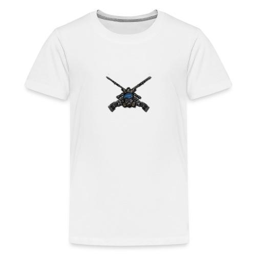 Bad Ass Gun - T-shirt Premium Ado