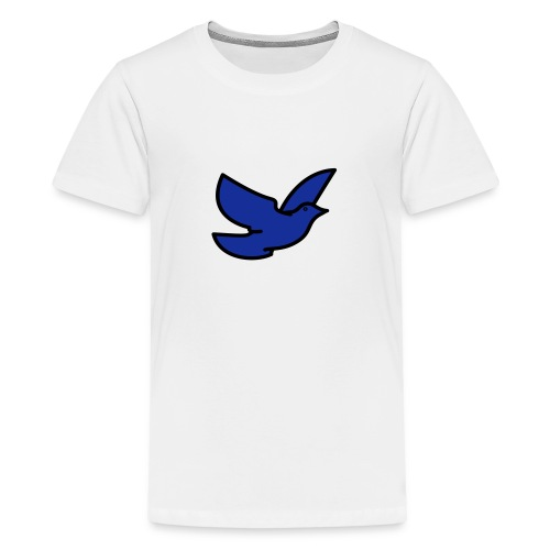 blue bird - Teenage Premium T-Shirt
