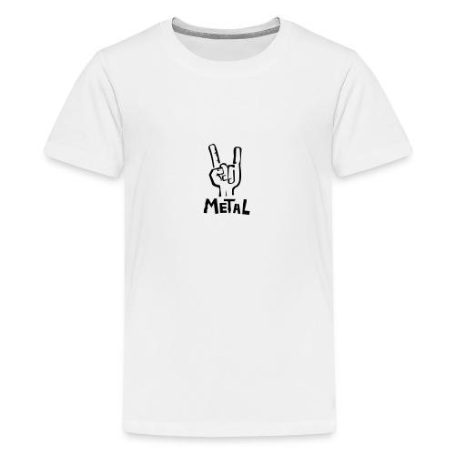 metal - T-shirt Premium Ado